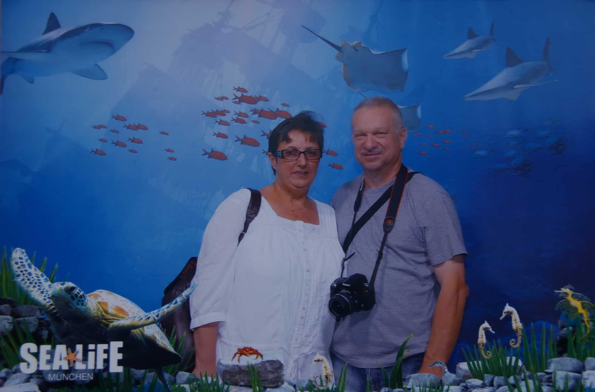 Heidi und Ewald im SeaLife München