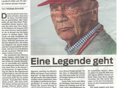 Eine Legende ist von uns gegangen !!!